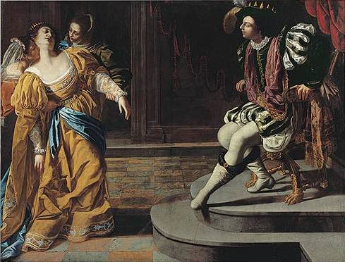Esther before Ahasuerus - Artemisia Gentileschi