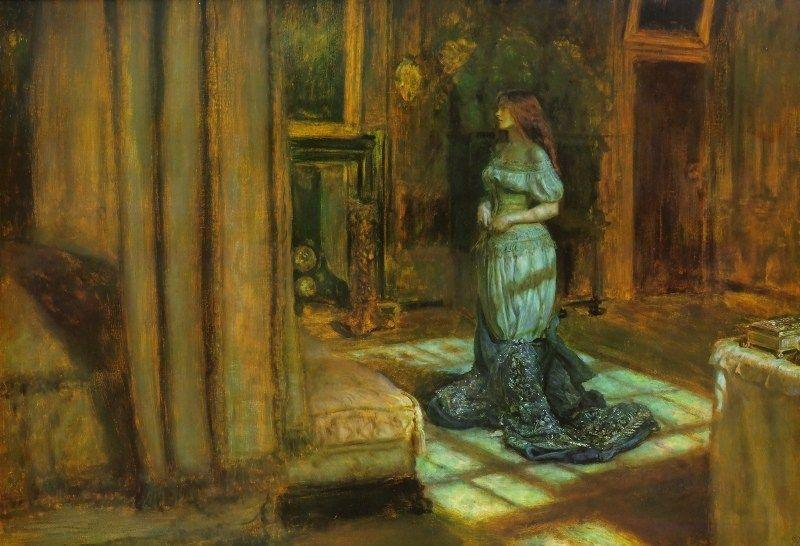 Eve of Saint Agnes - John Everett Millais