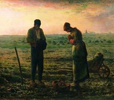 Evening Prayers Angelus - Jean Francois Millet