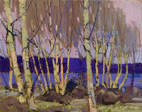 Evening, Canoe Lake - Tom Thomson
