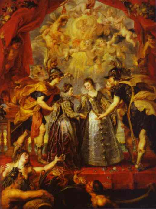 Exchange of Princesses - Peter Paul Rubens