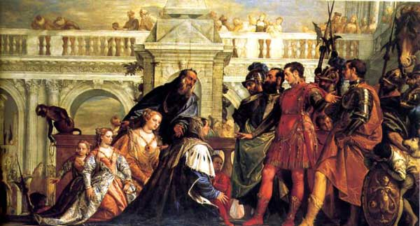 Family of Darius 1569 - Paolo Veronese