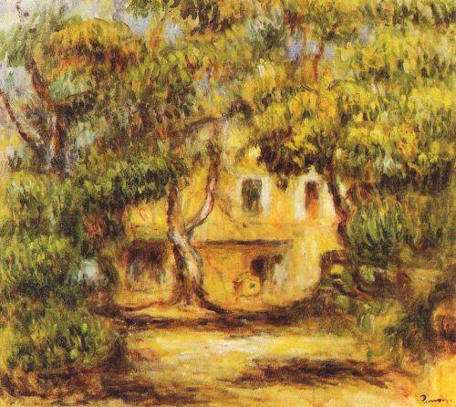 Farm at Les Collettes - Pierre Auguste Renoir