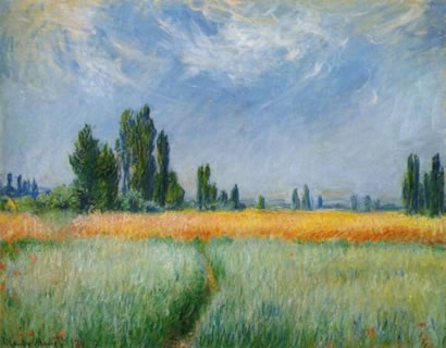 Field of Corn - Claude Monet