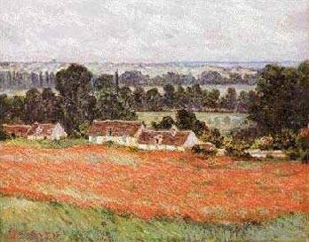 Fields of Poppies at Giverny - Claude Monet