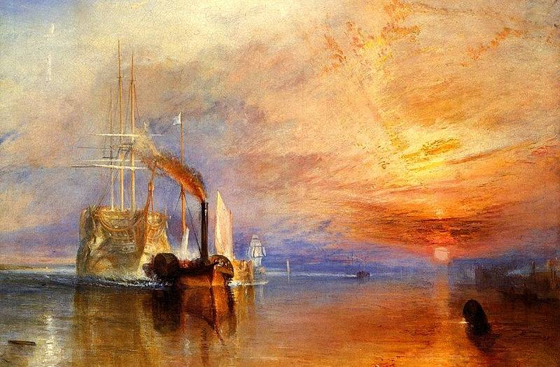 Fighting Temeraire - Joseph Mallord William Turner