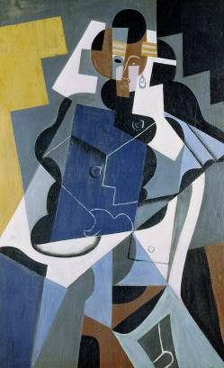 Figure of a Woman - Juan Gris