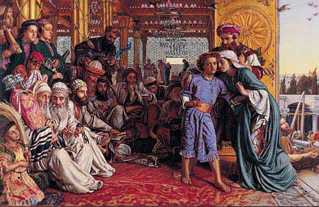 Finding of the Savior in the Temple - William Holman Hunt