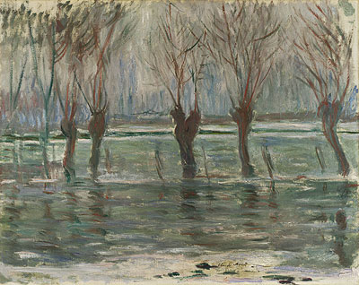 Flood Waters - Claude Monet