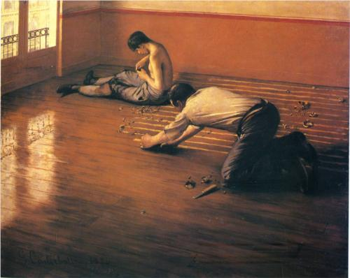 Floor Strippers - Gustave Caillebotte