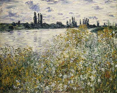 Flower Island near Vétheuil - Claude Monet