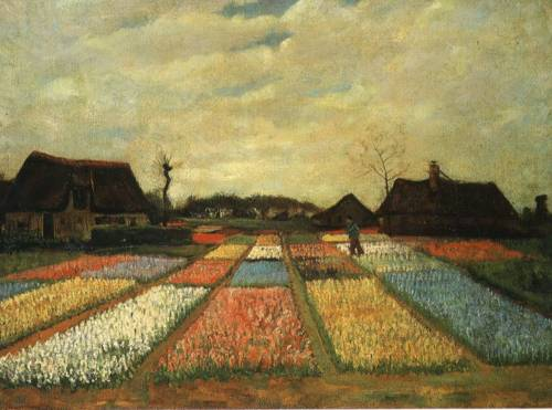 Flowers in Holland - Vincent van Gogh