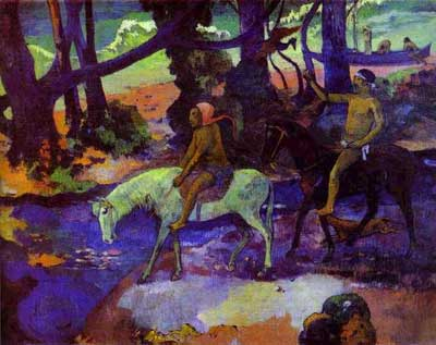 Ford (Running Away) - Paul Gauguin