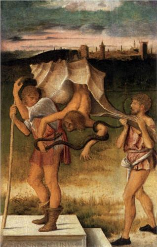 Four Allegories: Falsehood (Wisdom) - Giovanni Bellini