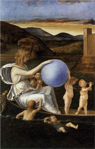 Four Allegories: Fortune (Melancholy) - Giovanni Bellini