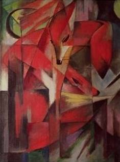 The Fox - Franz Marc