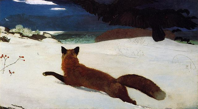 Fox Hunt - Winslow Homer