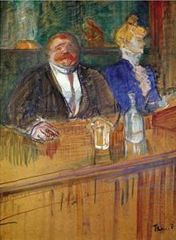 French Bar - Henri de Toulouse Lautrec