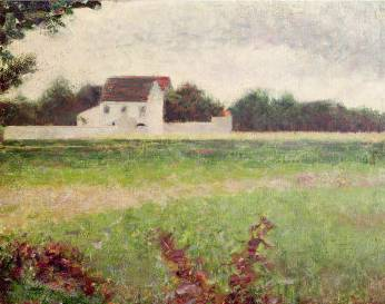 French Landscape - Georges Seurat