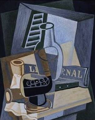 Front of a Window - Juan Gris