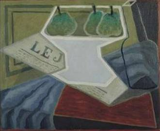 Fruit Bowl 1925 - Juan Gris