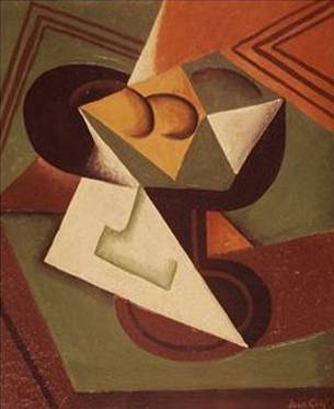 Fruit Bowl - Juan Gris