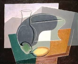 Fruit Dish and Carafe - Juan Gris