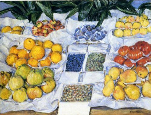 Fruit Display - Gustave Caillebotte