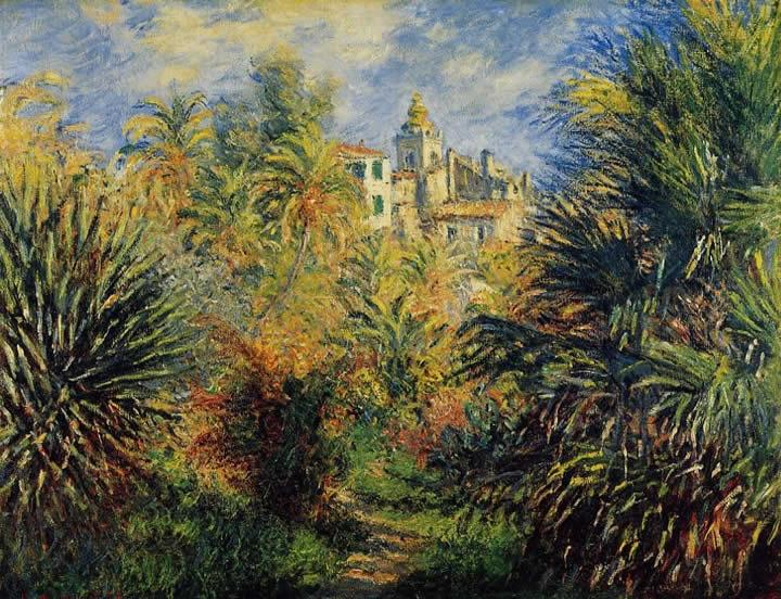 Moreno Garden at Bordighera - Claude Monet