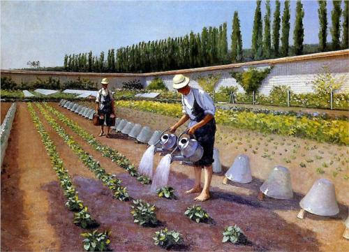 Gardeners - Gustave Caillebotte
