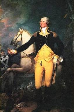 George Washington Before the Battle of Trenton - John Trumbull
