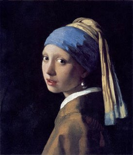 Girl with a Pearl Earring - Jan Vermeer