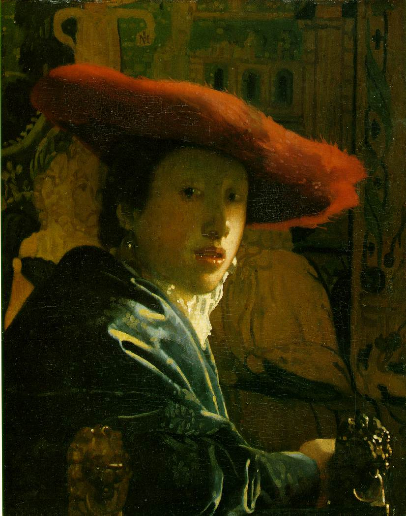 Girl with a Red Hat - Jan Vermeer van Delft