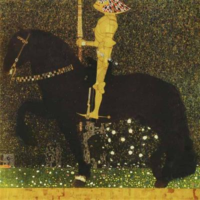 The Golden Knight - Gustav Klimt