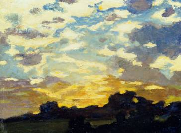 Golden Sunset - Edward Henry Potthast
