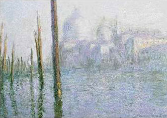 Grand Canal in Venice - Claude Monet