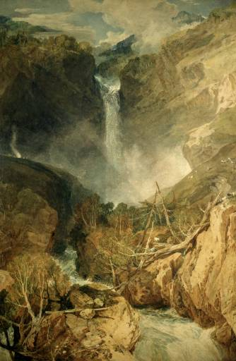 Great Falls of the Reichenbach - Joseph Mallord William Turner