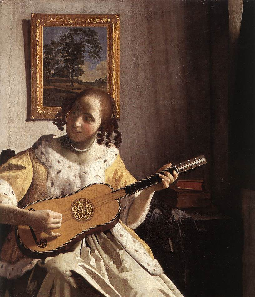 The Guitar Player - Jan Vermeer van Delft