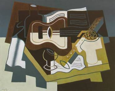 Guitar and Clarinet - Juan Gris