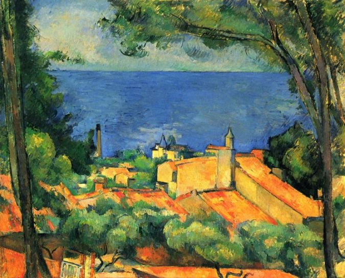 Gulf of Marseilles - Paul Cezanne