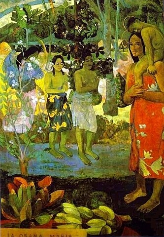 Hail Mary - Paul Gauguin