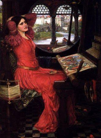 Half Sick of Shadows - John William Waterhouse