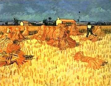 Harvest in Provence - Vincent van Gogh