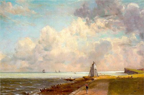 Harwich Lighthouse - John Constable