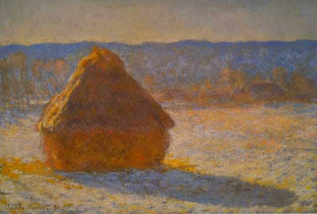 Haystack in the Morning - Claude Monet