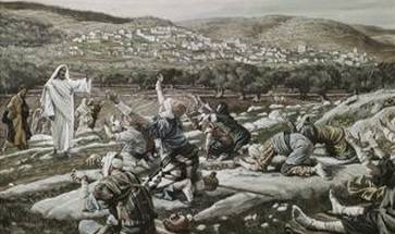 Healing of the Ten Lepers - James Tissot