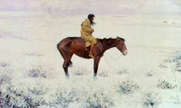 Herd Boy - Frederic Remington