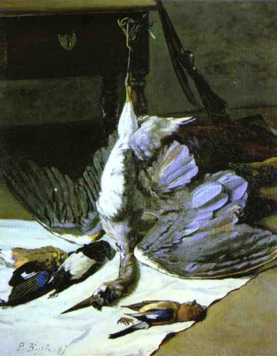 Heron - Frederic Bazille