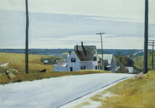 High Road - Edward Hopper