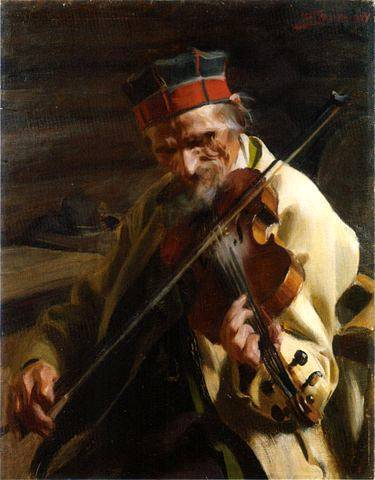 Hins Anders Fiddler - Anders Zorn